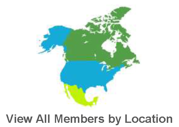 View All Members by Location - North America